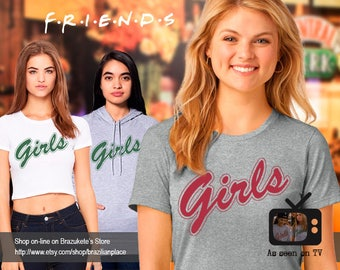 FRIENDS TV Show Girls Sweater / TShirt. Rachel Green Monica