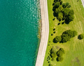Chicago Lakefront Drone Photography