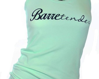 Barre shirt. barre. Barretender.  barre tank. workout tank. womens graphic tees. barre so hard. gym clothes. barre tank top. fitness apparel