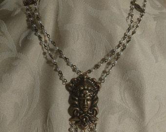 Art Nouveau Gorgon Necklace No. 1
