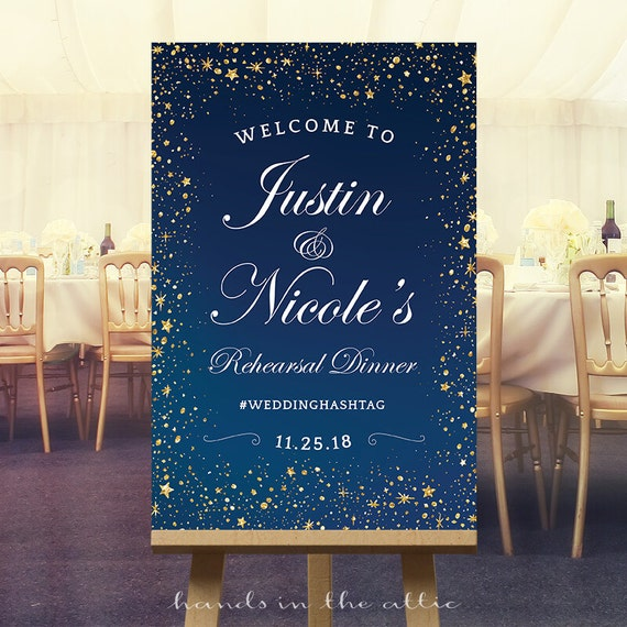 Welcome To Mr Hardison S Page: Rehearsal Dinner Sign Wedding Welcome Sign Chalkboard