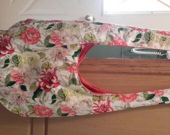 Beautiful hand sewn hobo bag