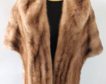 Mink Stole/ Mink Coat/Mink Cape/Vintage Mink Fur/Bridal wrap/Wedding Mink Wrap/Fur Coat/Fur capelet/Fur Shawl/Mink shawl