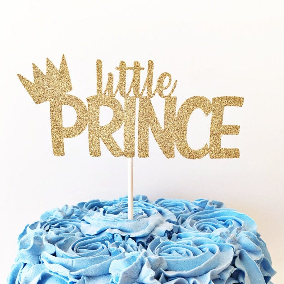 Little Prince Cake Topper / Little Prince Birthday Party