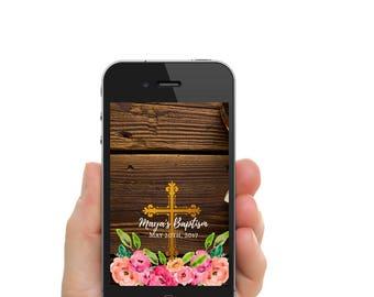 Baptism Snapchat Filter