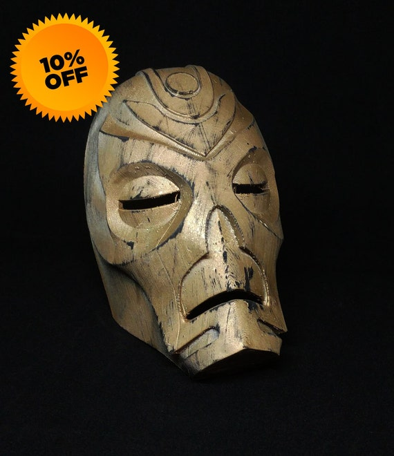 Skyrim Dragon Priest Mask (3D Printed) (FREE SHIPPING)