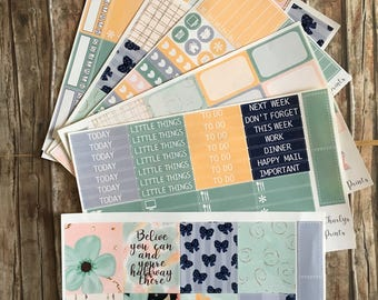 Erin Condren Planner Sticker Belive Kit