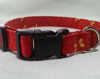 The Buzzing Bees Dog Collar