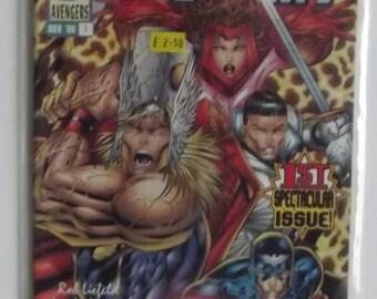 Marvel Comics Present The Avengers Vol 2 #1 Nov 1996