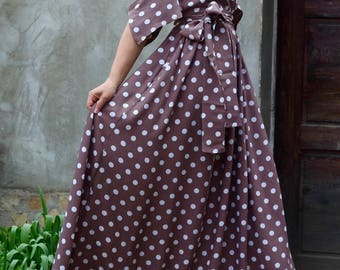 Long Dress With Dots