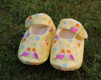 Shoes of baby budgies - size 0-1 month