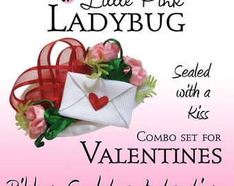 Ribbon Sculpture Instruction - Valentines Combo Set