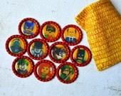 Lego Batman Movie Bottlecap Magnets- Batman Magnets- Lego Batman Party- Lego Magnets- Boy Gift- Batman Party- Lego Gift- Robin, Joker
