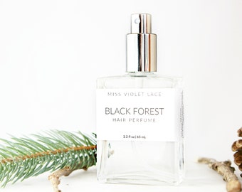 Black Forest Hair Perfume | Deep Woods | 100% natural and vegan