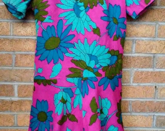 Vintage Mod Dress Medium Large