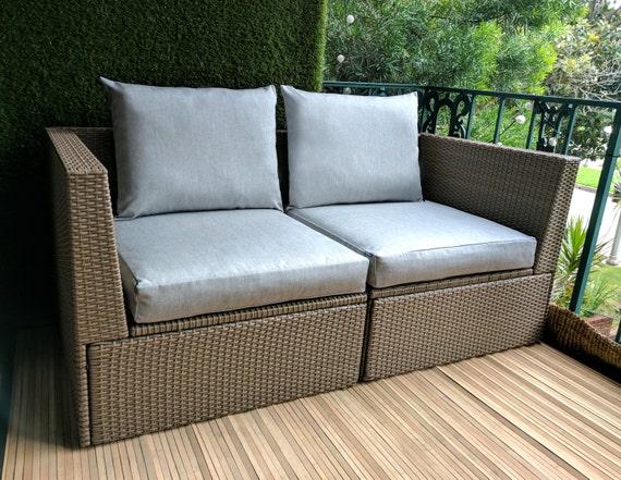 ikea outdoor slip cover ikea cushion covers custom ikea. Black Bedroom Furniture Sets. Home Design Ideas
