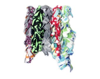 """Fringe Rope 24""""  for small pets play and hide"""