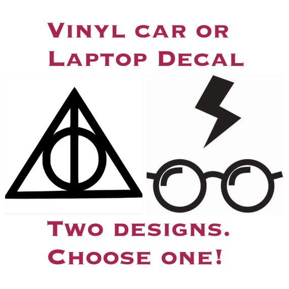 Harry Potter themed Car or Laptop Decal
