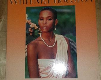 80s Whitney Houston S/T full length LP album record vinyl hit r&b soul Grammy winner Arista Clive Davis self titled How Will I Know
