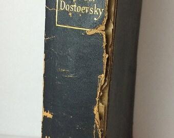 Crime and Punishment Fyodor Dostoevsky Volume IV Published 1928 Constance Garnett Translation Soaring Hawk Vintage