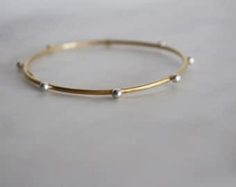 twig inspired bracelet, sterling silver bracelet, modern bracelet, every day bangle, bridesmaid thin bangle, minimalistic bangle