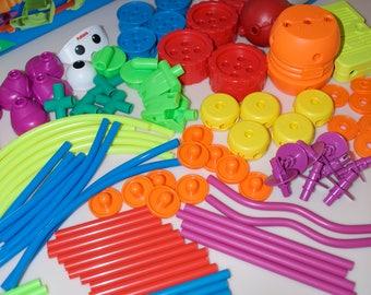 Tinker Toy Crazy Constructions Box Set 1994