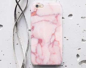 Pink Marble iPhone 7 Case Marble Phone 6s Plus Case iPhone 6 Case Marble Case for Samsung Galaxy S7 Case for Samsung S6 Case iPhone X WC1735