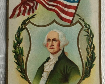 George Washington, Antique postcard.