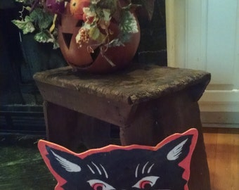 Halloween Cat Head Cutout
