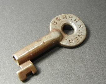 Burlington & Missouri River Steel Switch Key