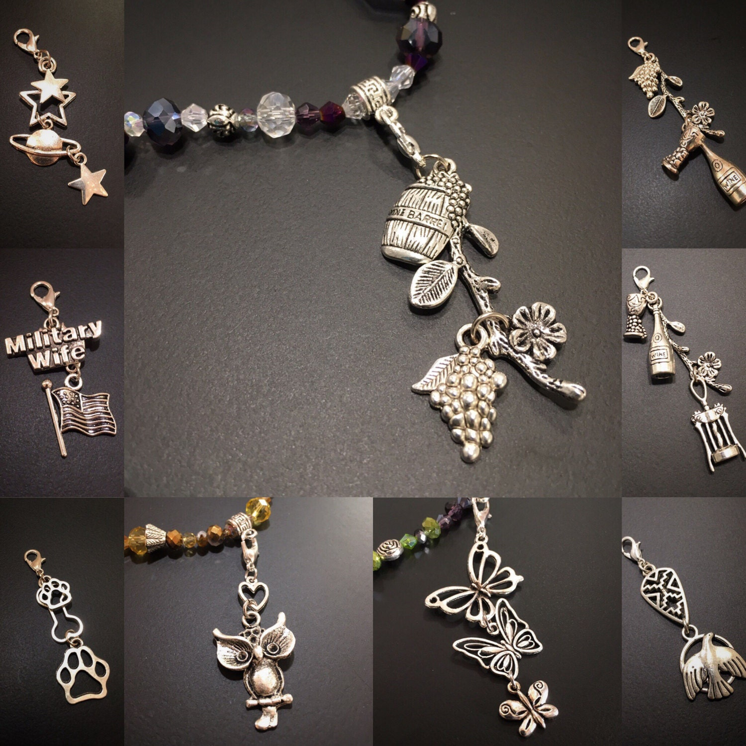 Soccer Charms Charm accessories Charms for bracelet charms for