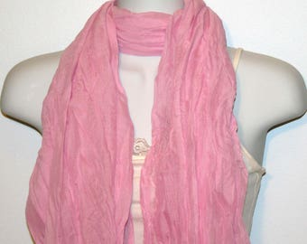 Womens Scarf, Purple Scarf, Chiffon Scarf, Voile Scarf, Cotton Scarf, Fashion Scarf, Shawl, Womans Scarf