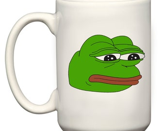 Enough sad frog meme celebrity