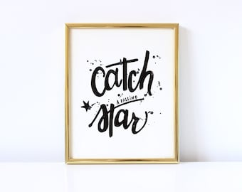 Catch A Star - Print for your kids room