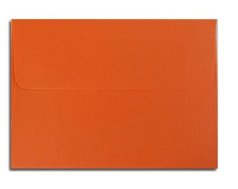 20 Bright Orange Envelopes in A7, A6, A2 & A1 Sizes
