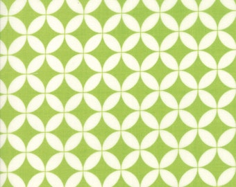 1 Yard Bonnie and Camille Basics by Moda -55111-41 Hello Darling Green