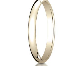 18k Yellow Gold 2.5mm Wedding band, 18kt Wedding Band, 18kt Yellow Gold wedding band, 2.5mm Wedding Ring, 18kt White Gold 2.5mm,