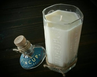 Tincup Whiskey candle