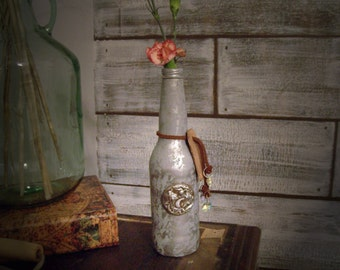Rose Bud Vase - Rustic, Modern Country, Romantic Prairie Decor
