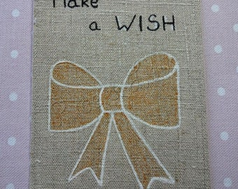 beautiful card and Make a wish