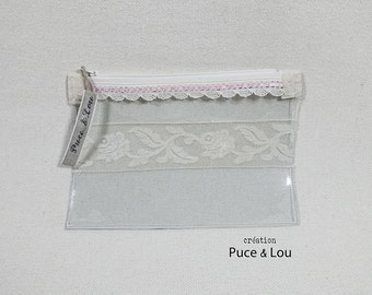 Pocket transparent romantic lace