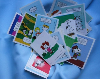 Vintage Snoopy.Snoopy Peanuts. Snoopy stickers. 80s.Colorful. Retro stickers.Charles Schultz.Comic.Figuritas.Cromos.Crafts.Card Making. Cute