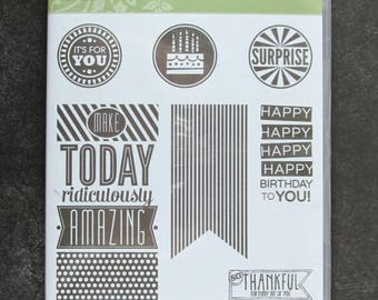 "Stampin' Up!, ""Amazing Birthday"""