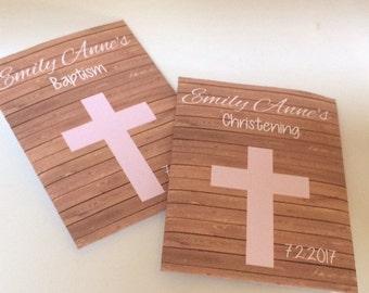35 Baptism Seed Packets, girl Baptism Favors, girl Baptism Decorations, girl Christening Favors, Christening Seed packets, girl Christening