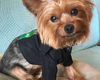 Designer dog clothes, Mexican Dog Shirts, Pet clothing, Dog clothes/ Mexican design