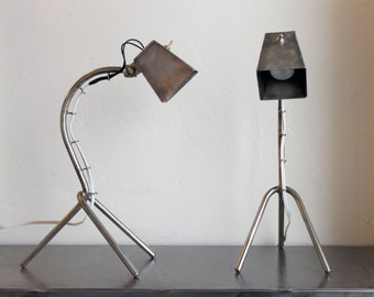 Stainless Steel Handmade Desk Lamp