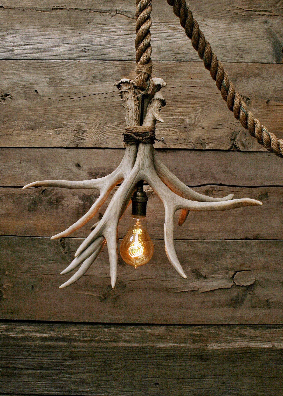Driftwood Led Light Fixture