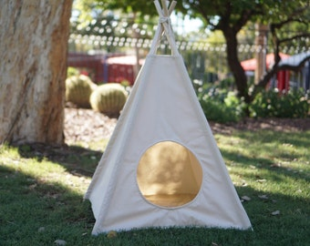 Pet teepee in S/M with door entrance,pet friendly designed ,dog teepee, cat teepee