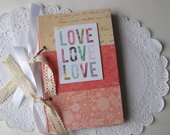 Instax album guest book, Love scrapbook mini album - Instagram Instax mini album