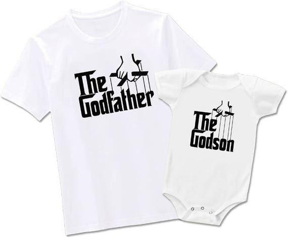 Godfather Godmother Godson Tees xXxOMbINC